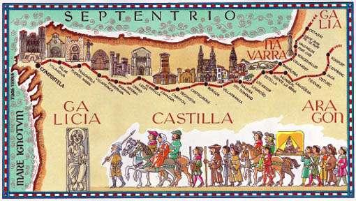 Cultura en el Camino: peregrinos ilustres