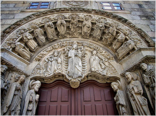 Portada del Colegio de San Xerome