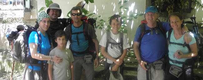 Hacer el Camino de Santiago en familia