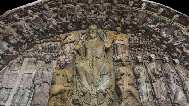 Un recorrido por la Catedral de Santiago de Compostela: el Pórtico de la Gloria (2ª parte)
