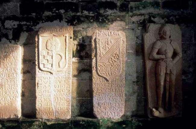 Sepulcros de los Caballeros de la Orden de Santiago