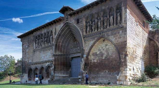 Iglesia del Santo Sepulcro en Estella