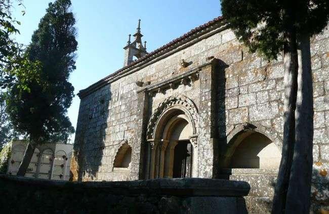 Santa María del Templo en Melide