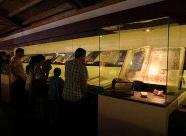 Sala que alberga el Codex Calixtino