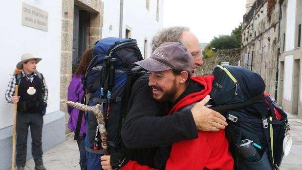 El Camino de Santiago registra cifras históricas en 2016.