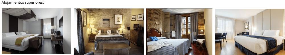 habitaciones de lujo en el Camino de Santiago VIP Pambretours.com