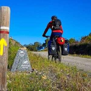 Camino Portugués por la costa en bicicleta.- 7 días y 6 noches, 271 km. Guiado 1.600€