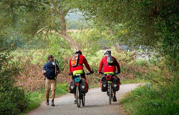 Desde Ponferrada en Bicicleta (independiente) 200km 6días 5 noches 390€