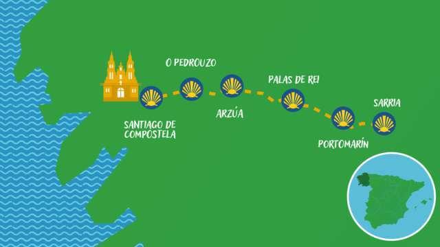 camino de sarria a santiago